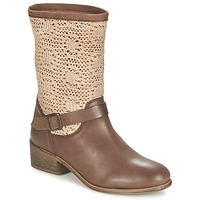 Skor Dam Boots Betty London CASTAGNO Brun
