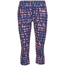 textil Dam Leggings The North Face PULSE CAPRI TIGHT Marin / Rosa