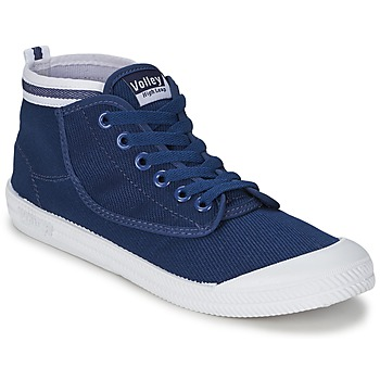 Skor Herr Höga sneakers Volley HIGH LEAP Navy / Vit