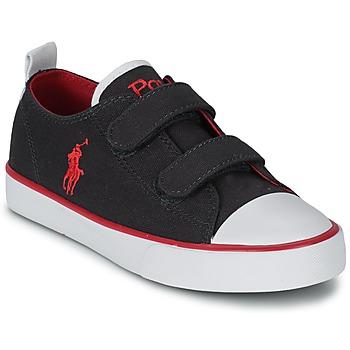 Skor Barn Sneakers Polo Ralph Lauren WHEREHAM LOW EZ Blå