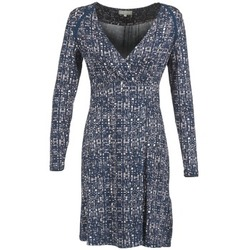 textil Dam Korta klänningar Cream OMAGA Blå