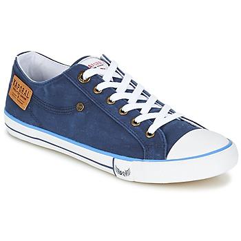 Skor Herr Sneakers Kaporal ICARE Marin