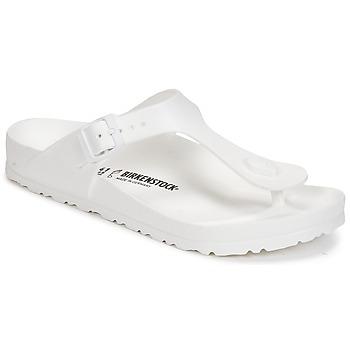 Skor Dam Flip-flops Birkenstock GIZEH EVA Vit