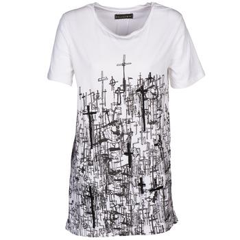 textil Dam T-shirts Religion B123CND13 Vit
