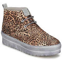 Skor Dam Höga sneakers Ylati BAIA F Leopard