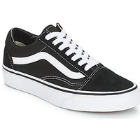 Skor Sneakers Vans OLD SKOOL Svart / Vit