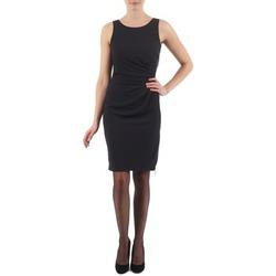 textil Dam Korta klänningar Esprit BEVERLY CREPE Svart