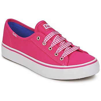 Skor Dam Sneakers Keds DOUBLE UP Fuchsia