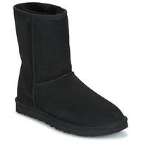Skor Dam Boots UGG CLASSIC SHORT Svart