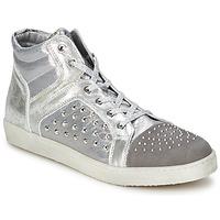 Skor Dam Höga sneakers Hip 90CR Silver / krokodil
