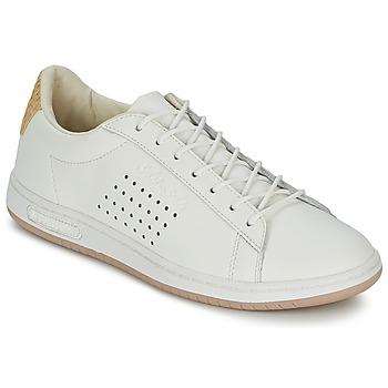 Skor Sneakers Le Coq Sportif ARTHUR ASHE RAFFIA Krämfärgad