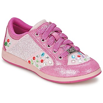 Skor Flick Sneakers Lelli Kelly GLITTER-ROSE-CALIFORNIA Rosa
