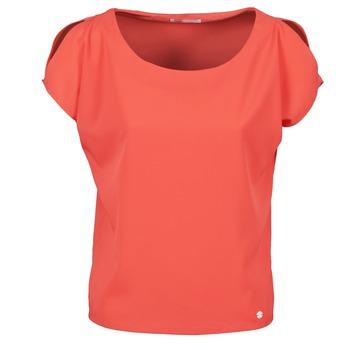 textil Dam T-shirts Les P'tites Bombes S145003 Röd