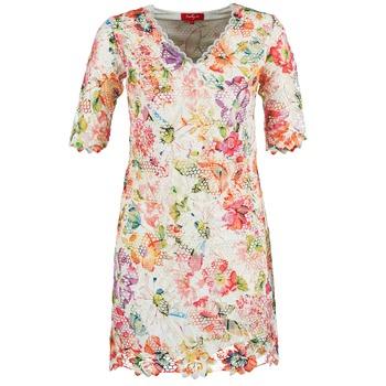 textil Dam Korta klänningar Derhy EBULLITION Benvit