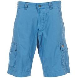 textil Herr Shorts / Bermudas Napapijri PORTES A Blå