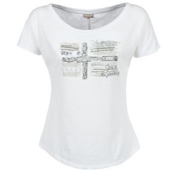 textil Dam T-shirts Napapijri SINK Vit