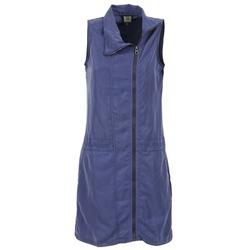 textil Dam Korta klänningar Bench EASY Blå