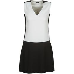 textil Dam Korta klänningar Joseph DORIA Svart / Vit