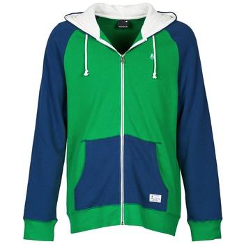 textil Herr Sweatshirts Nixon ANCHOR Blå / Grön