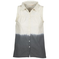 textil Dam Skjortor / Blusar Teddy Smith CAMILLE Blå / Benvit