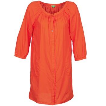 textil Dam Korta klänningar Bensimon FOURTY Orange