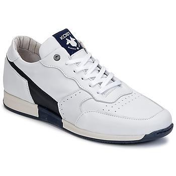 Skor Herr Sneakers Kost HOOPER Vit / Marin