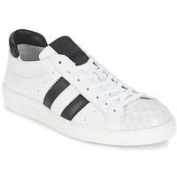 Skor Dam Sneakers Bikkembergs BOUNCE 594 LEATHER Vit / Svart