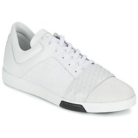 Skor Herr Sneakers Bikkembergs OLYMPIAN LEATHER Vit