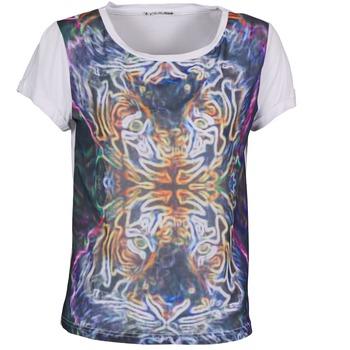 textil Dam T-shirts DDP PORIX Flerfärgad