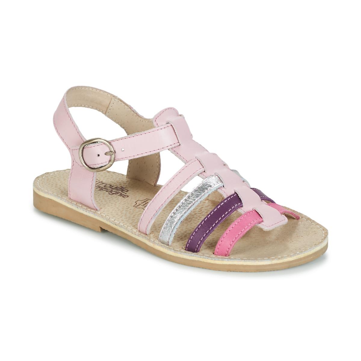 sandaler Citrouille et Compagnie JASMA Rosa / Violett