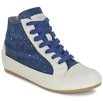 Skor Dam Höga sneakers Tosca Blu CITRINO Marin