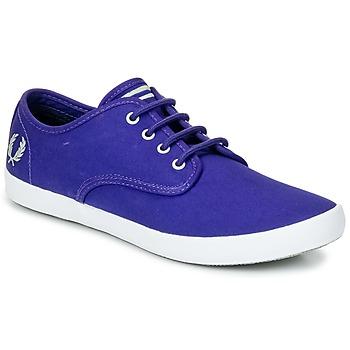 Skor Herr Sneakers Fred Perry FOXX TWILL Violett