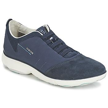Skor Dam Sneakers Geox NEBULA C Marin