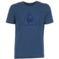 textil Herr T-shirts Le Coq Sportif ABRITO T Marin