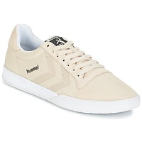 Skor Sneakers Hummel HML STADIL CANVAS LO Krämfärgad