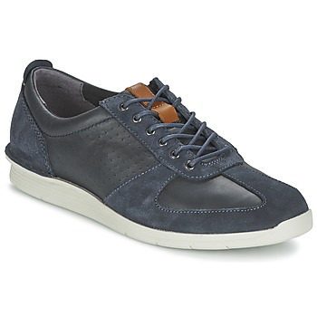 Skor Herr Sneakers Clarks POLYSPORT RUN Blå