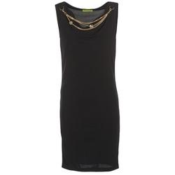 textil Dam Korta klänningar Versace Jeans NDM931 Svart