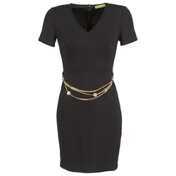 textil Dam Korta klänningar Versace Jeans NDM911 EASY Svart