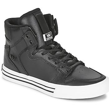 Skor Höga sneakers Supra VAIDER CLASSIC Svart / Vit