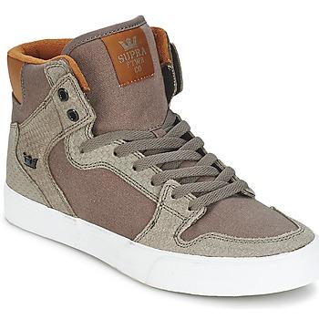 Skor Höga sneakers Supra VAIDER Brun