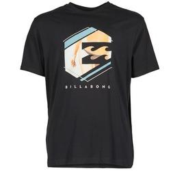 textil Herr T-shirts Billabong HEXAG SS Svart