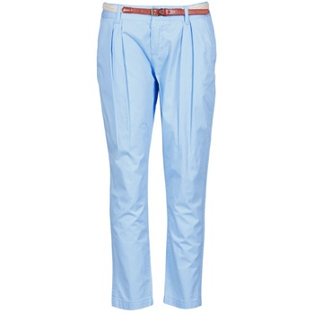 textil Dam Chinos / Carrot jeans La City PANTBASIC Blå
