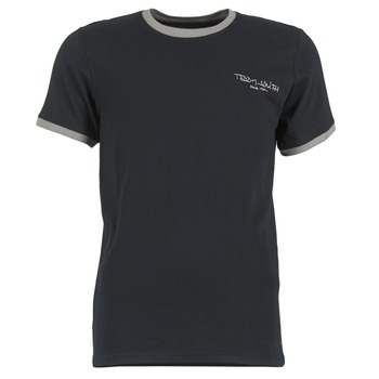 textil Herr T-shirts Teddy Smith THE-TEE Svart