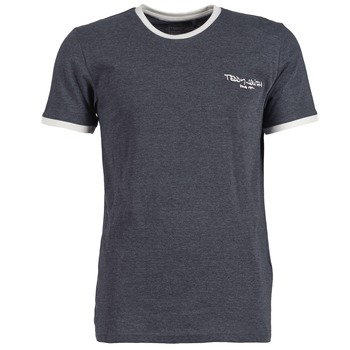 textil Herr T-shirts Teddy Smith THE-TEE Grå