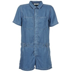 textil Dam Uniform Teddy Smith CALINCA DENIM LYOCELL Blå
