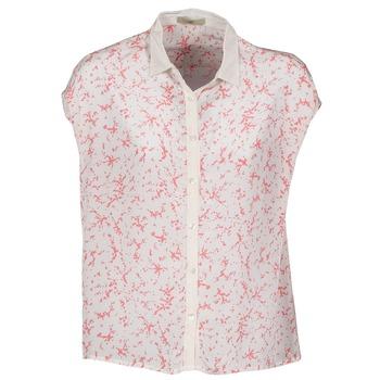 textil Dam Kortärmade skjortor Lola CANYON Vit / Röd