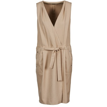 textil Dam Korta klänningar Lola ROOT Beige