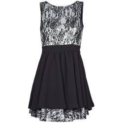textil Dam Korta klänningar Manoukian 612539 Svart