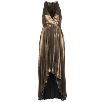 textil Dam Långklänningar Manoukian 612556 Guldfärgad