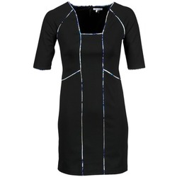 textil Dam Korta klänningar Manoukian 613369 Svart